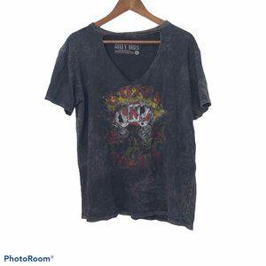Guns N' Roses T-Shirt Rock Band Official Logo Cool